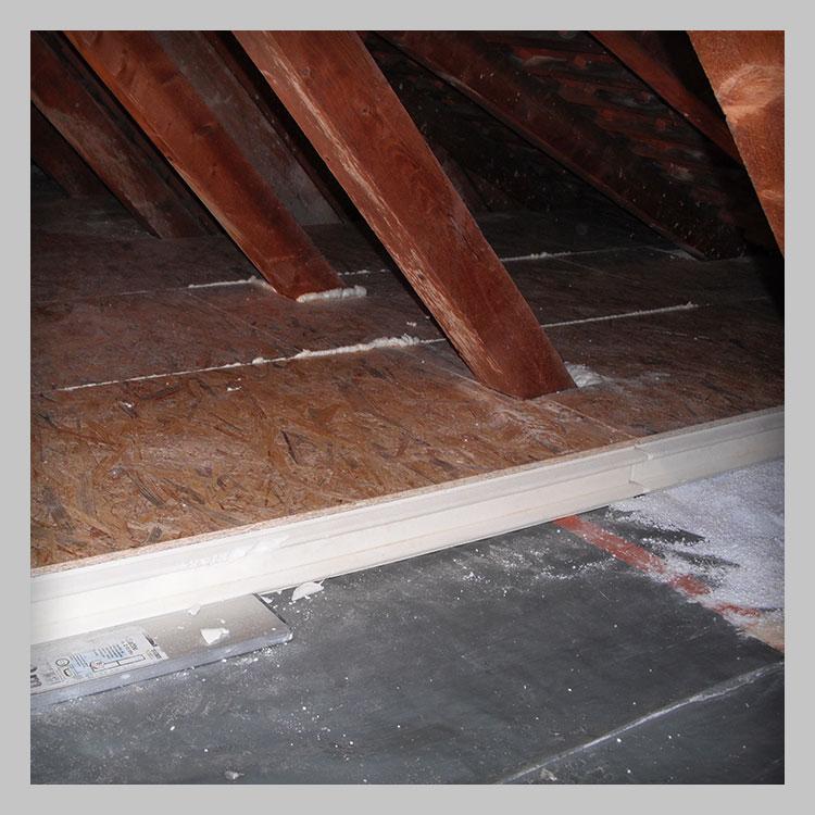 Dämmung von Dachgeschossen