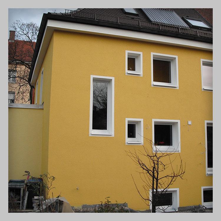 Wärmedämmung für Fassaden